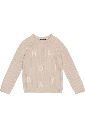 Loro Piana Girls Jumpers - Cashmere knitted sweater