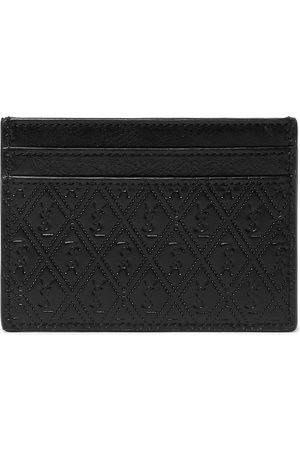 Saint Laurent Logo-Debossed Leather Cardholder