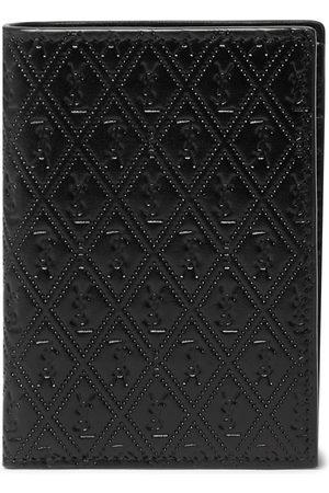 Saint Laurent Logo-Debossed Leather Bifold Wallet