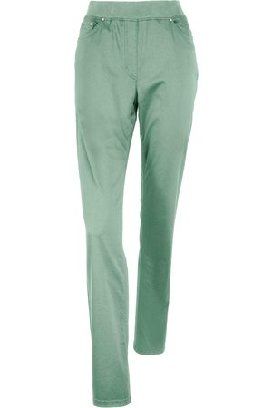 Brax Women Trousers - Comfort Plus pull-on trousers design Carina size: 10s