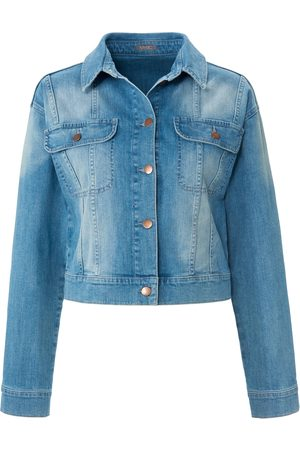 Mybc Denim jacket in short style denim size: 10