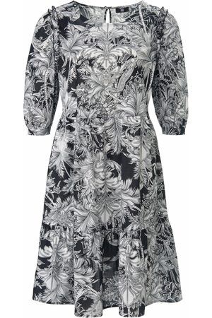 Riani Women Printed Dresses - Dress in 100% cotton floral print size: 10