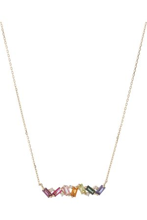 Suzanne Kalan Frenesia 18kt gold and diamond necklace