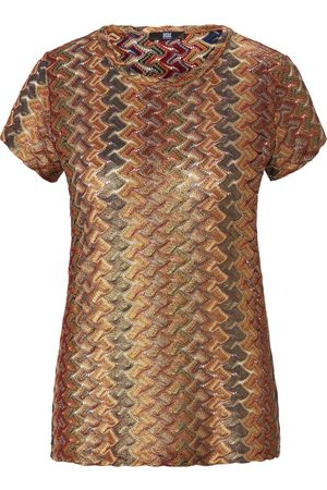 Riani Women Tops - Short-sleeved round neck top size: 10