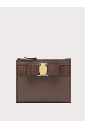 Salvatore Ferragamo Women Vara bow compact wallet