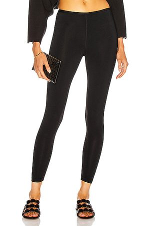 Alaïa Women Trousers - Stretch Legging in Noir