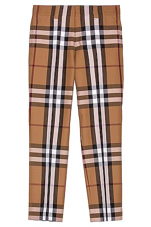 Burberry Men Trousers - Dover Classic Check Trouser in Birch