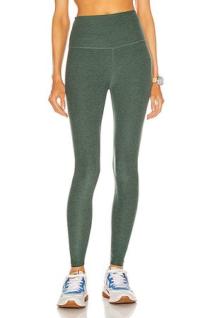 Beyond Yoga Spacedye Caught In The Midi High Waisted Legging in Ivy