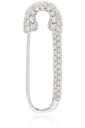 Anita Ko Women Earrings - 18kt white gold diamond-encrusted single earring