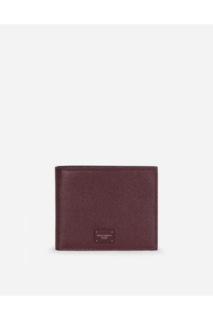 Dolce & Gabbana Wallets and Small Leather Goods - DAUPHINE CALFSKIN BIFOLD WALLET WITH BRANDED TAG male OneSize
