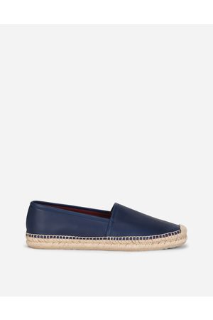 Dolce & Gabbana Loafers and Moccasins - CALFSKIN ESPADRILLES male 44