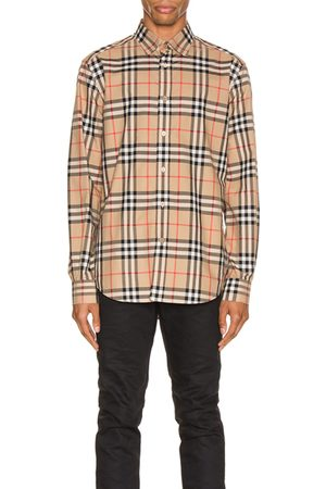 Burberry Long Sleeve Shirt in Archive Check