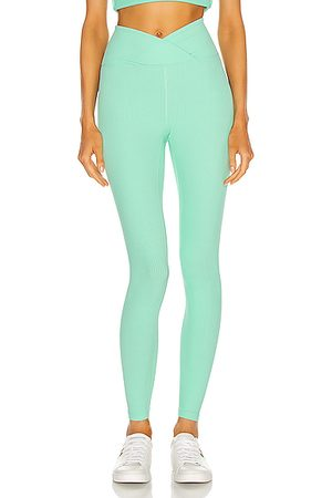 YEAR OF OURS Ribbed Veronica Legging in Mint