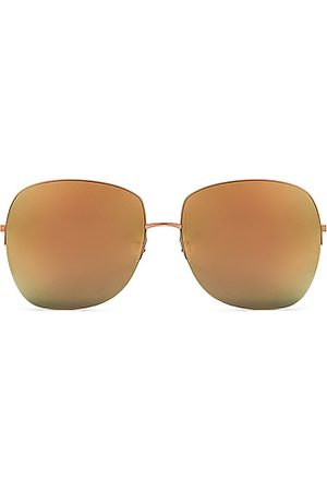 Barton Perreira Harmonia Sunglasses in Rose & Cherry Moon Mirror