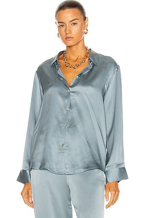 ASCENO The London PJ Top in Dust