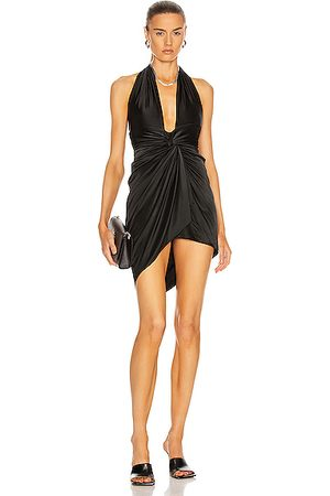 ALEXANDRE VAUTHIER Halter Ruched Mini Dress in