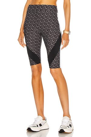 Burberry Andrea Paneled Cycling Short in Graphite