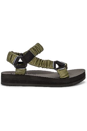 Arizona Love Trekky Leather Sandal in Dark