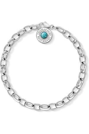 Thomas Sabo Charm bracelet turquoise turquoise X0229-404-17-L14,5