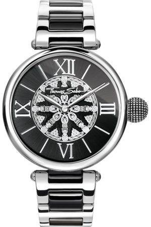 Thomas Sabo Women's watch KARMA black WA0298-290-203-38 MM