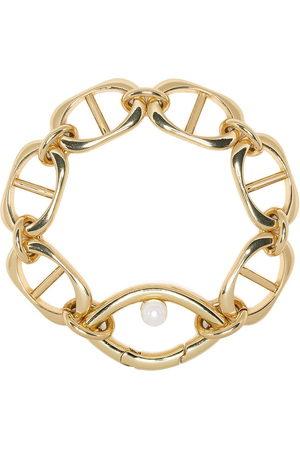 CAPSULE ELEVEN Eye Opener chain pearl bracelet