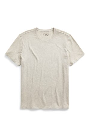 RRL Men T-shirts - Garment-Dyed Crewneck T-Shirt