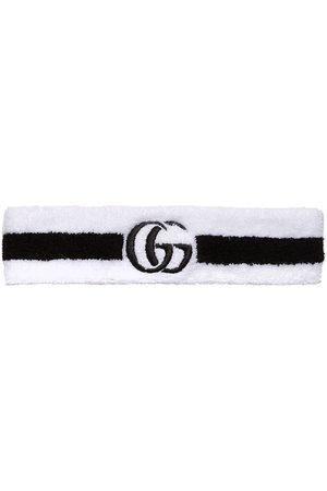 Gucci Embroidered GG headband