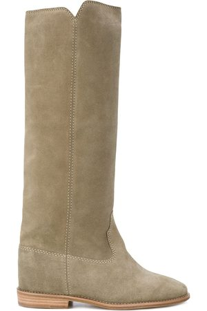 Isabel Marant Cleave concealed wedge boots - Neutrals
