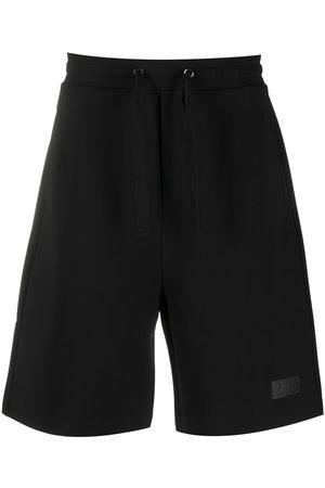 VALENTINO Logo patch track shorts