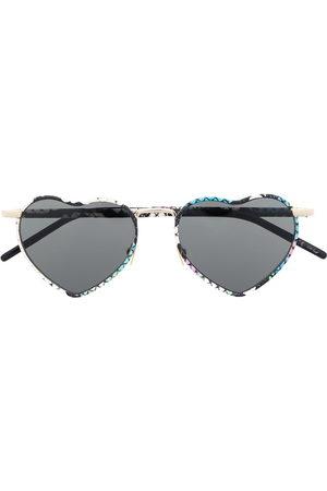 Saint Laurent SL301 LouLou heart-shaped sunglasses