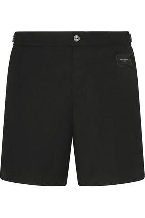 Dolce & Gabbana Logo plaque swimming shorts