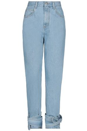 WEILI ZHENG Women Trousers - DENIM - Denim trousers