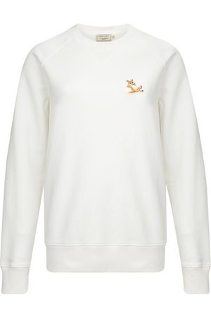 Maison Kitsuné Chillax fox patch sweatshirt