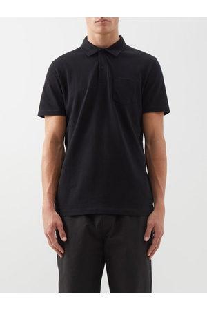 Sunspel Riviera Cotton Polo Shirt - Mens