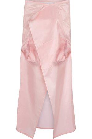 Prada Silk taffeta cape