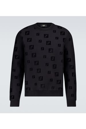Fendi Men Sweatshirts - FF chenille sweatshirt
