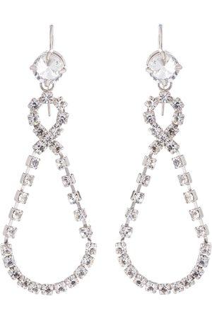 Miu Miu Crystal pendant earrings