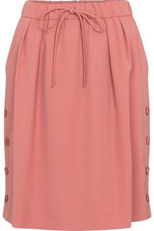 Max Mara Women Mini Skirts - Cesena wool-gabardine miniskirt