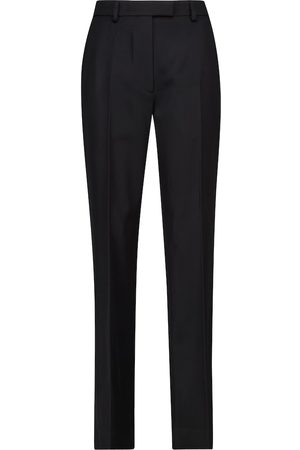 Prada Straight virgin wool gabardine pants