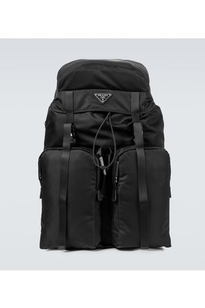Prada Nylon and Saffiano leather backpack