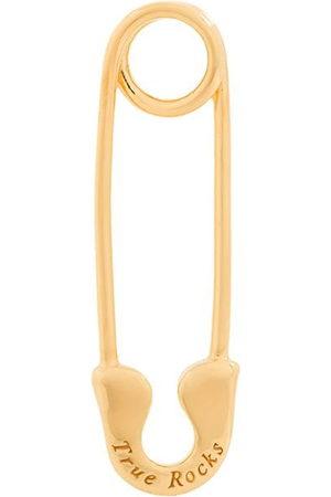 TRUE ROCKS Safety pin stud earring