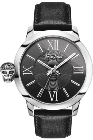 Thomas Sabo Men Watches - Men's watch REBEL WITH KARMA black WA0297-218-203-46 MM