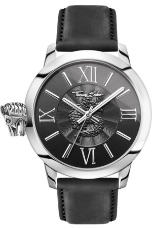 Thomas Sabo Men Watches - Men's watch REBEL WITH KARMA black WA0295-218-203-46 MM