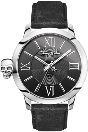 Thomas Sabo Men's watch REBEL WITH KARMA black WA0296-218-203-46 MM