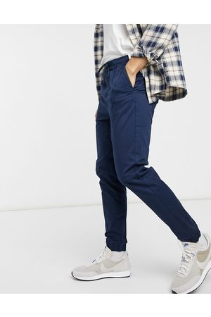 Only & Sons Cuffed trouser in navy