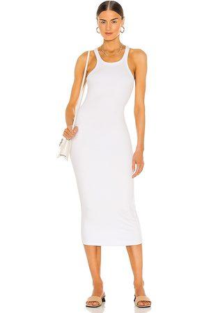 LnA Skinny Racer Midi Dress in . Size M, S, XS.