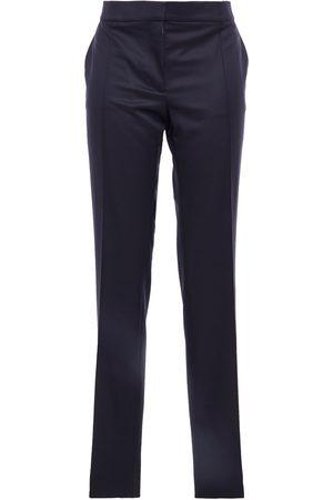 Stella McCartney Woman Anna Wool-twill Slim-leg Pants Indigo Size 34