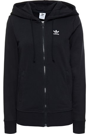 ADIDAS ORIGINALS Woman Embroidered French Cotton-blend Terry Sweatshirt Size 30