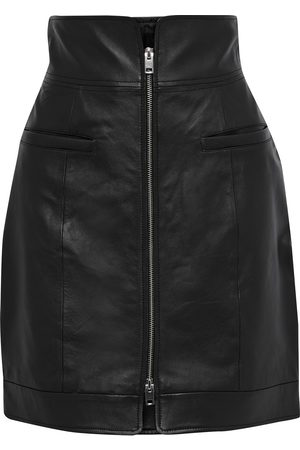 WALTER BAKER Woman Dana Leather Mini Skirt Size 0