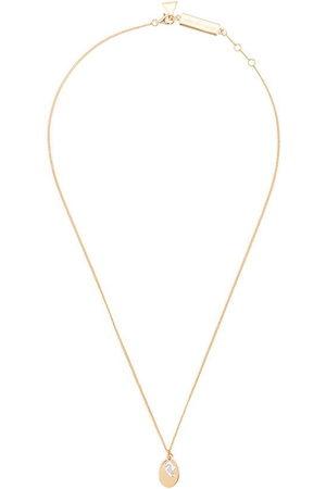 Coup De Coeur Women Necklaces - Stone disc necklace